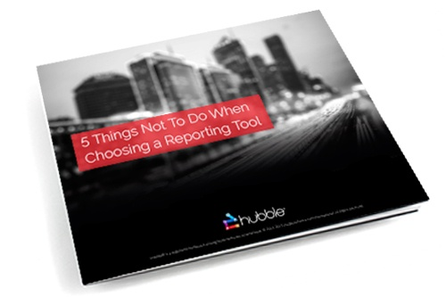 5 Things Not to Do When Choosing a Reporting eBook image