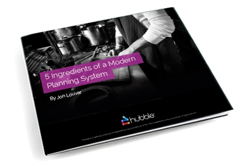 5 Ingredients of a Modern Planning Solution eBook image