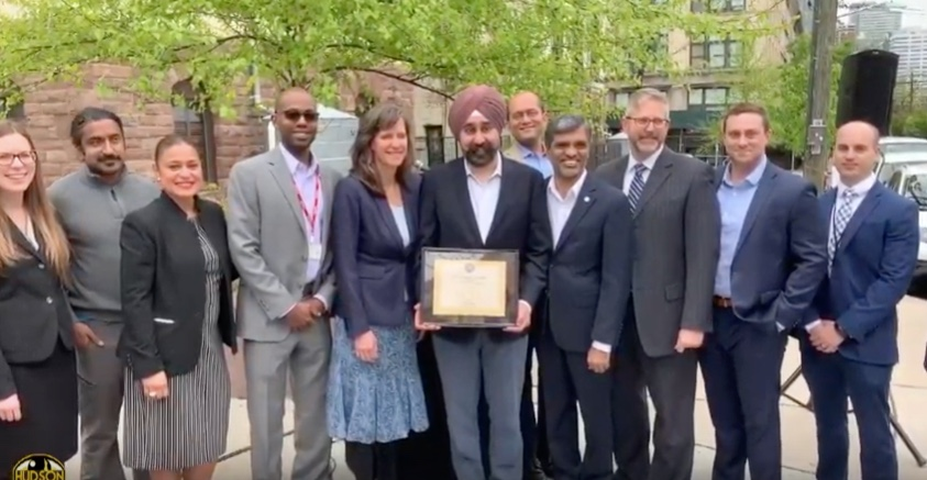 Hoboken was awarded LEED Gold certification