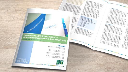 Image of UBTI for EBP white paper