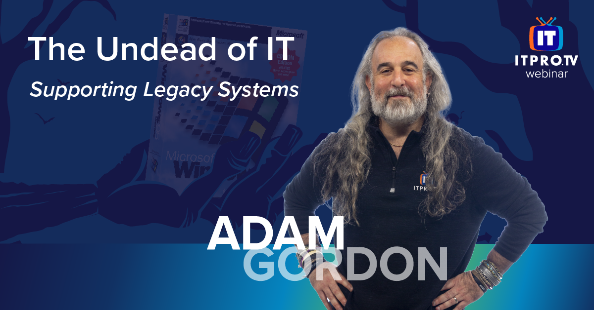 The Undead of IT: Supporting Legacy Systems