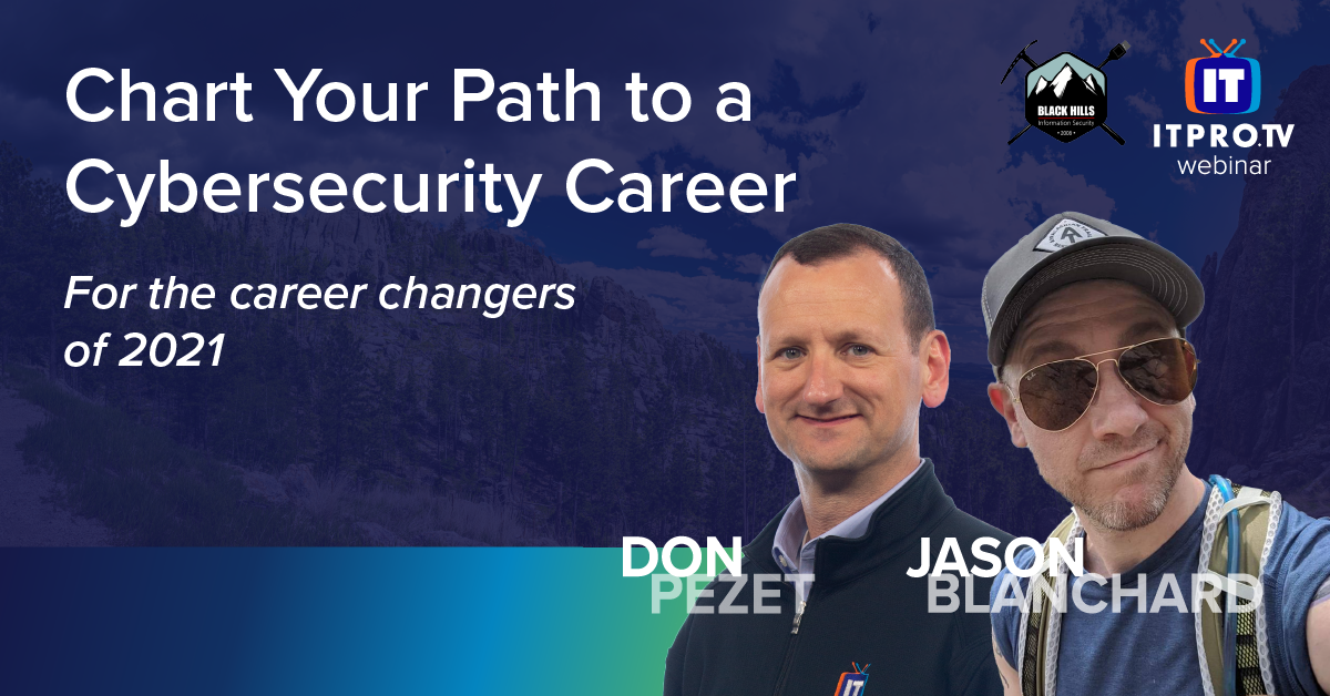Chart your path to a cybersecurity career