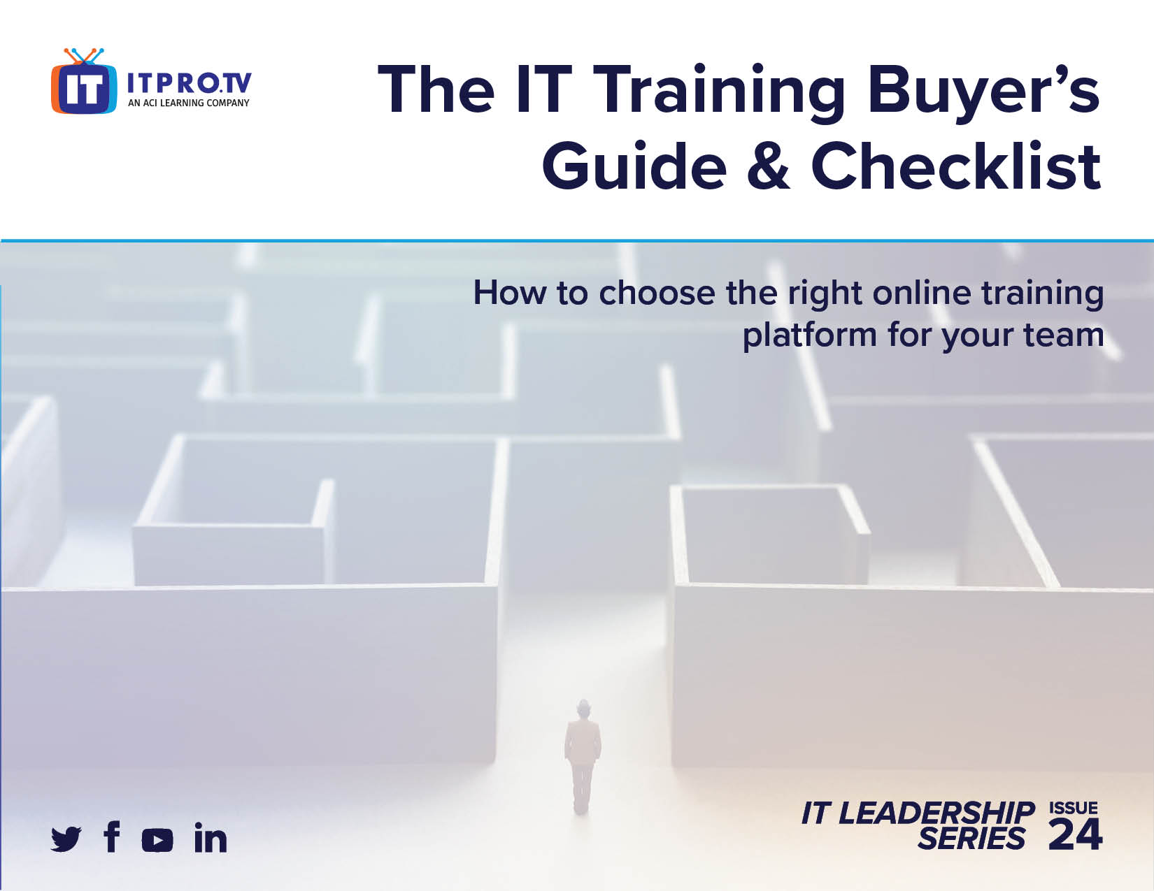 The IT Training Buyer's Guide & Checklist