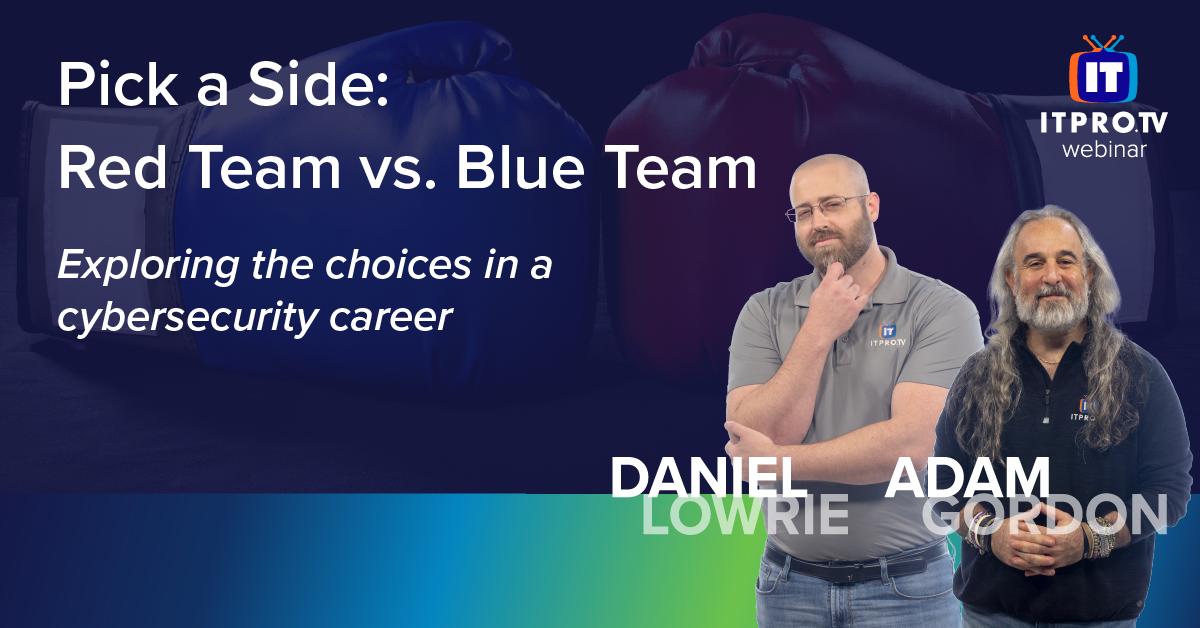 Pick a Side: Red Team vs. Blue Team
