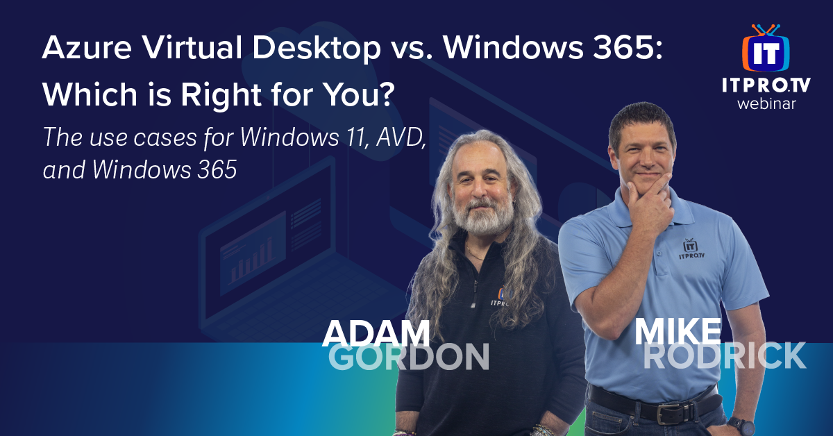 Azure Virtual Desktop vs. Windows 365: Which is Right for You?