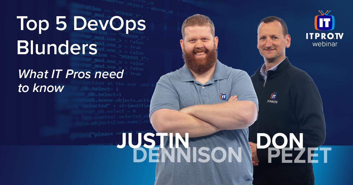 Top 5 DevOps Blunders