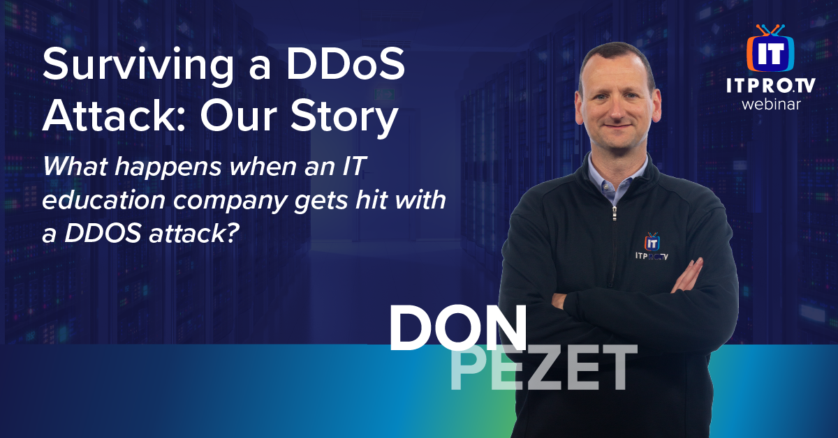 Surviving a DDoS Attack: Our Story