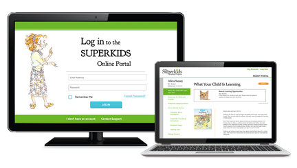 Superkids parent portal