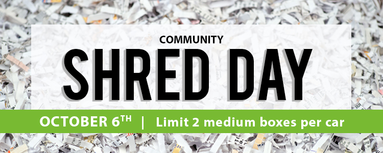 Shred Day - October 6th
