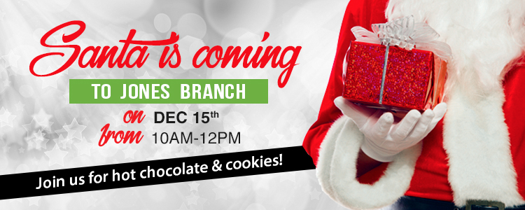 Santa is Coming - 12/15 from 10am - 12pm