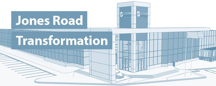 Jones Road Transformation