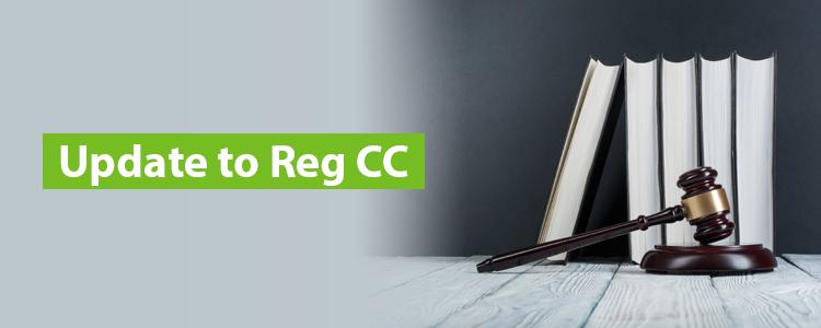 Update to Reg CC