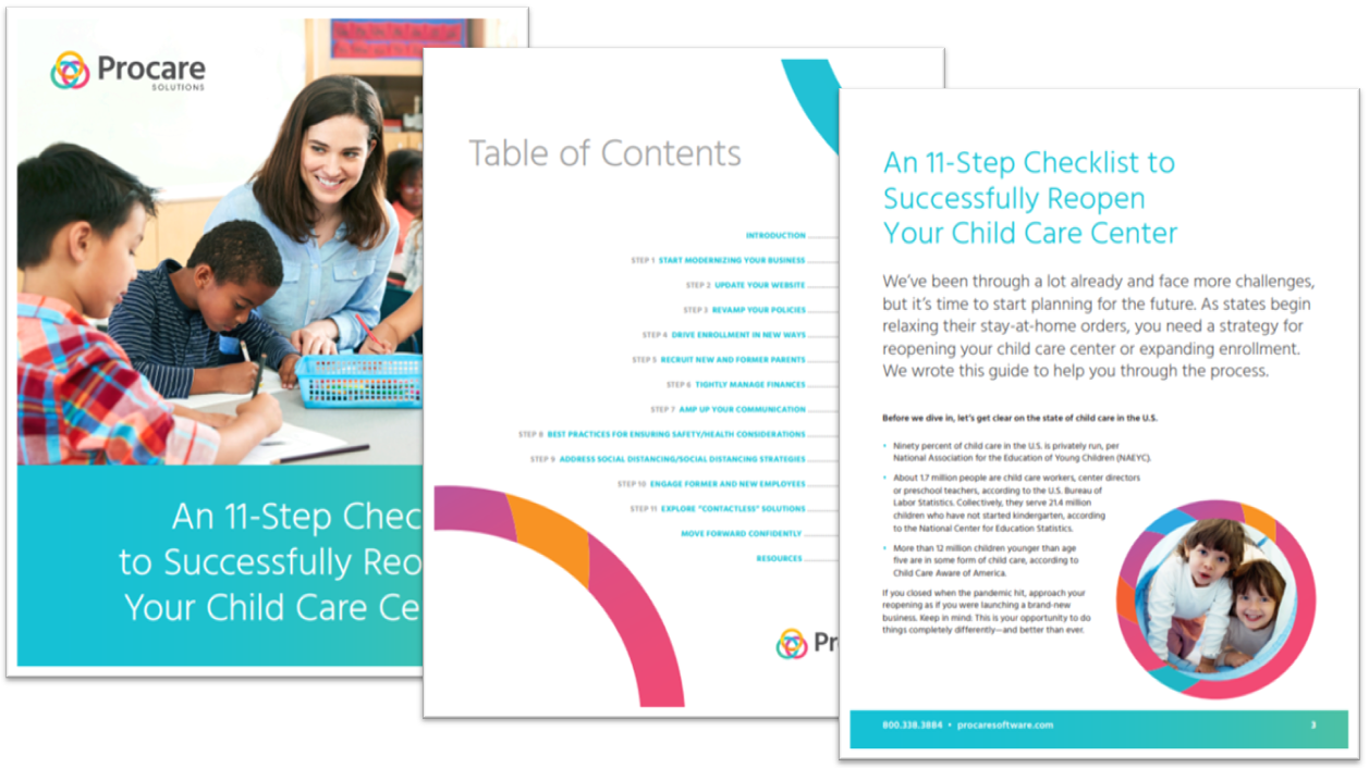 An 11-Step Checklist to Successfully Reopen Your Child Care Center