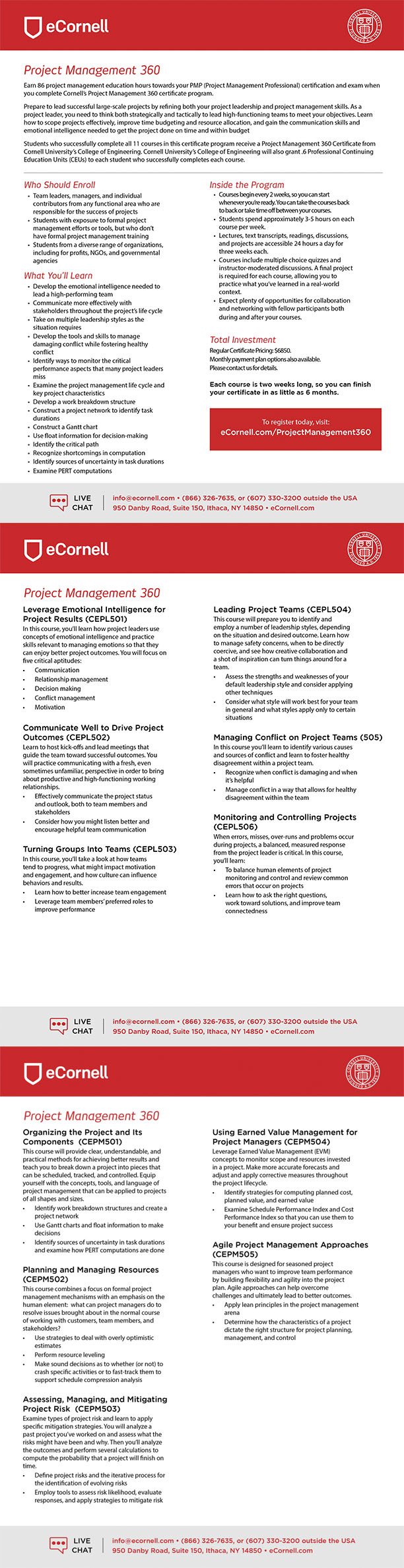 Project Management 360 Flyer