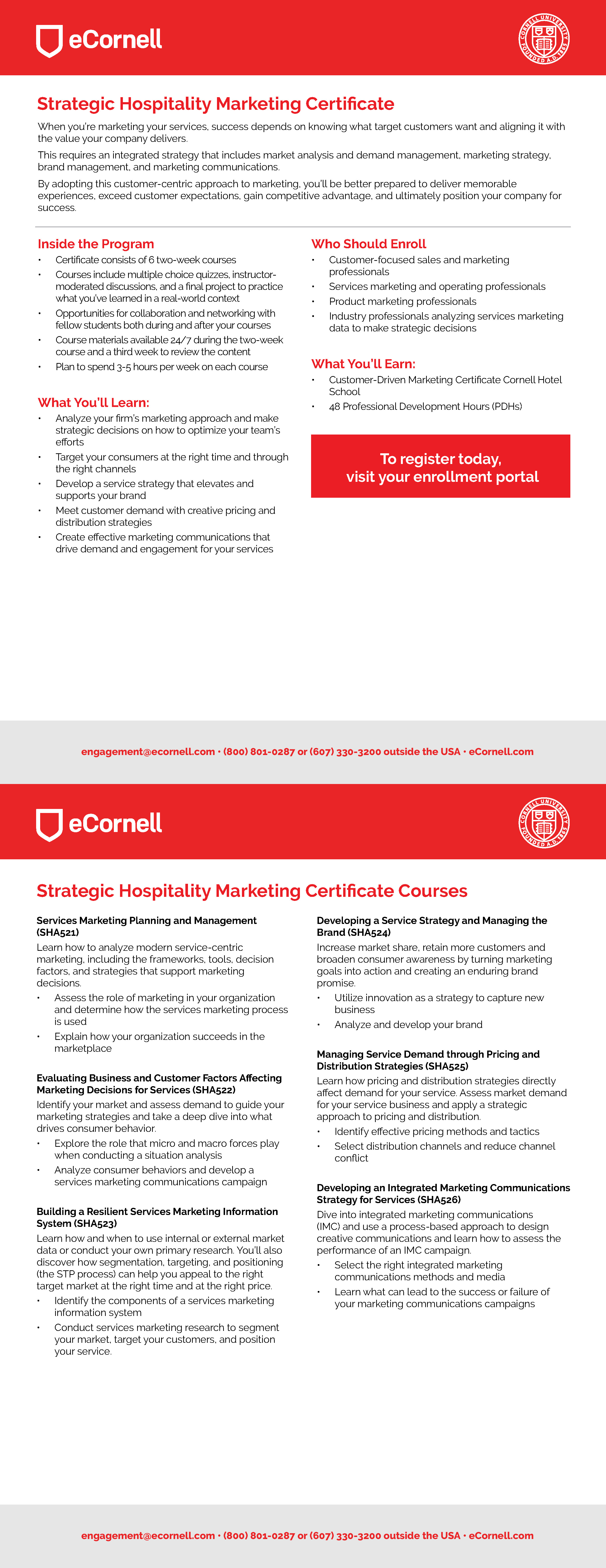 Customer-Driven Marketing Flyer for Corporations