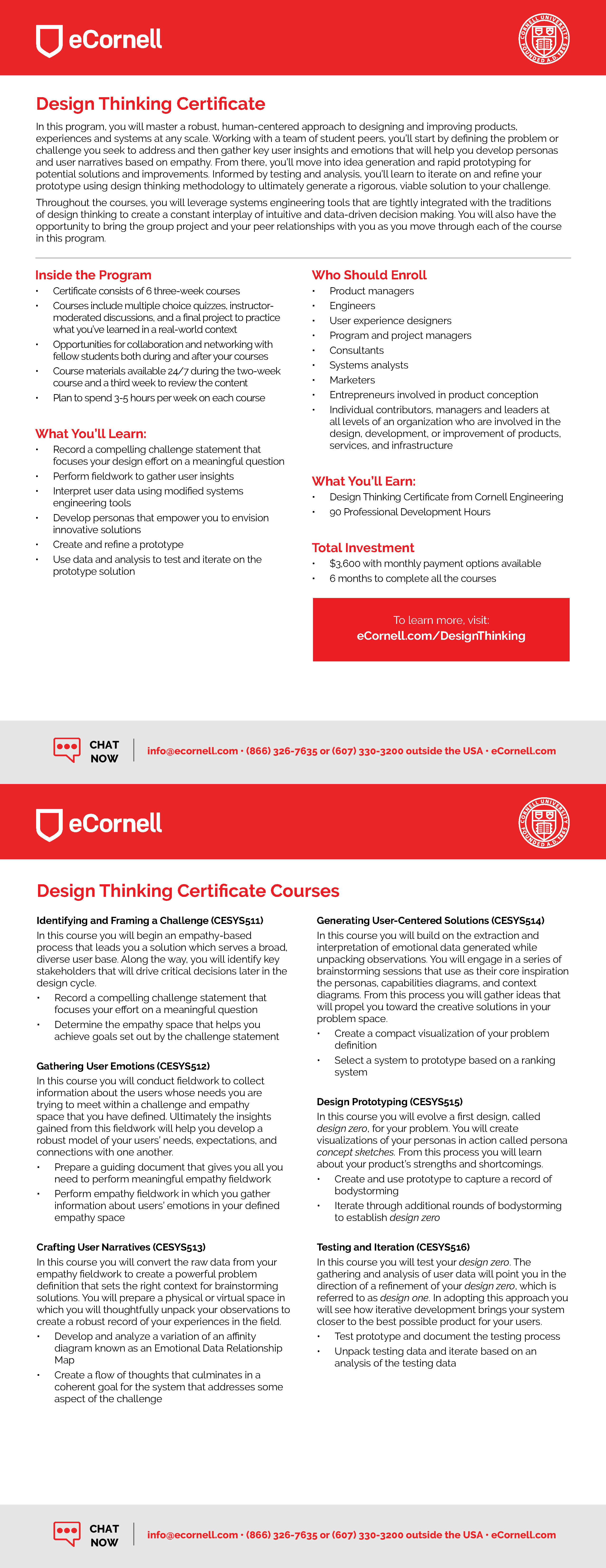 Design Thinking Flyer