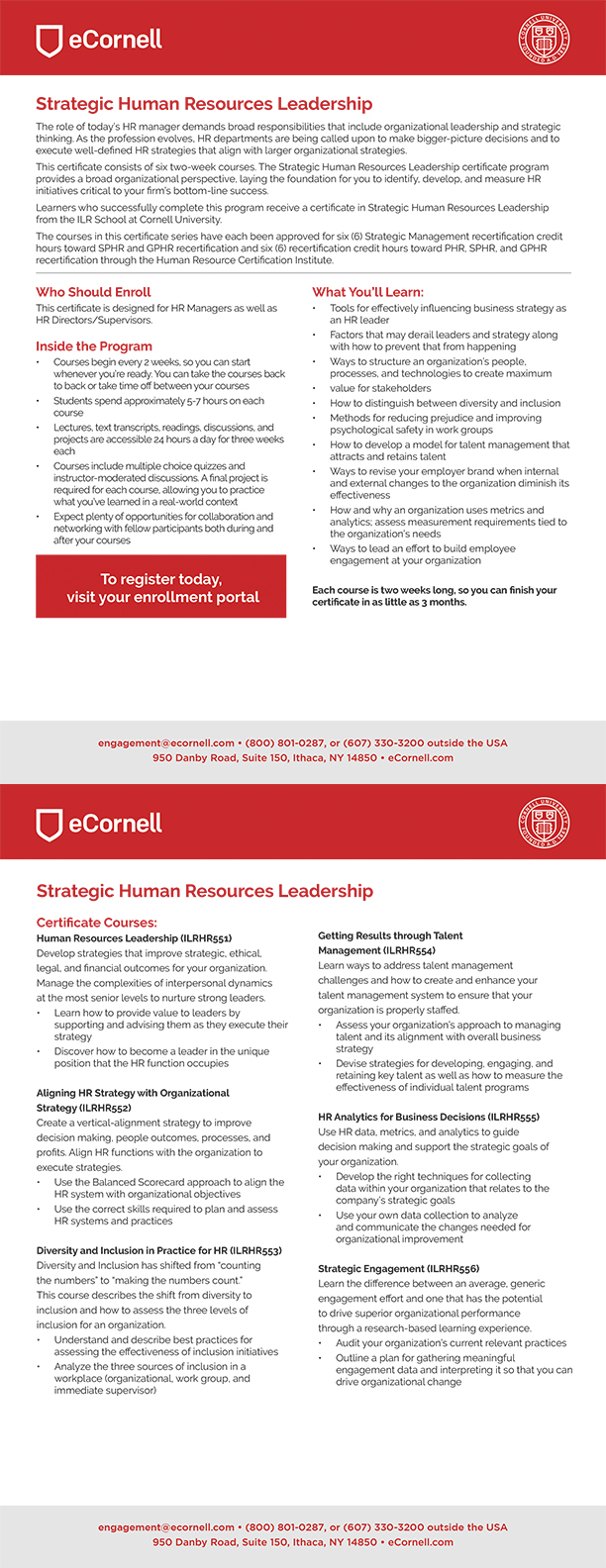 Strategic Human Resources Leadership
