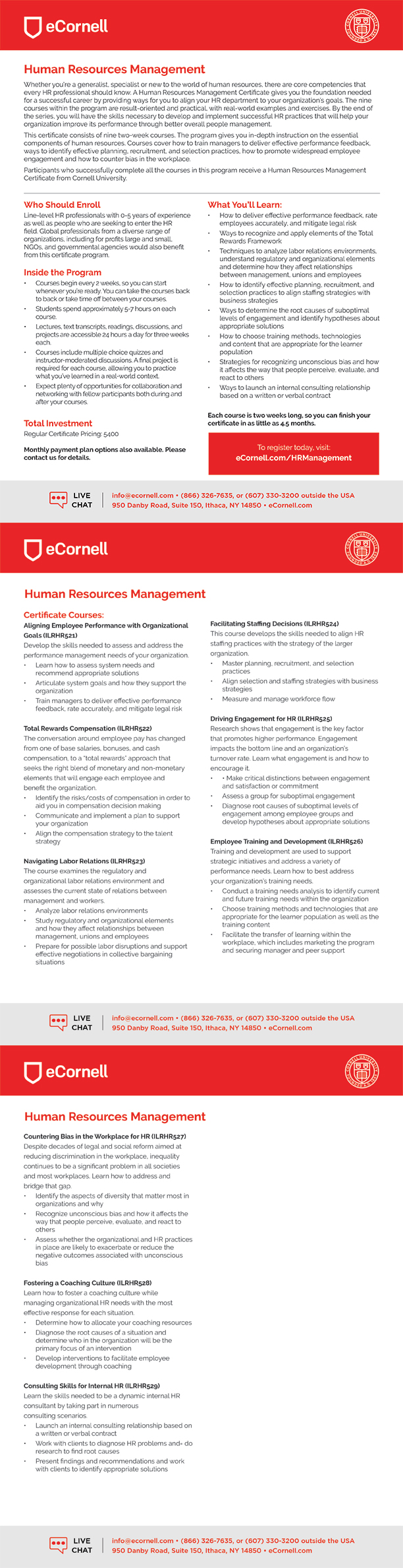 Human Resources Management Flyer