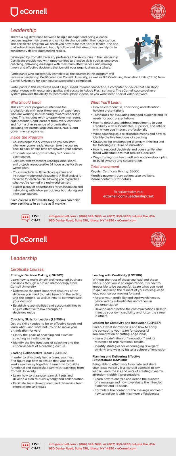 Leadership Flyer