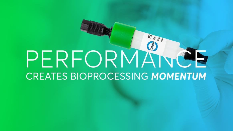 Biopharma researcher in lab