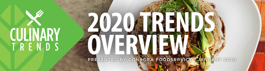 Culinary Trends: 2020 Tredns Overview