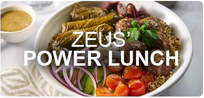 Zeus Power Bowl Lucnh