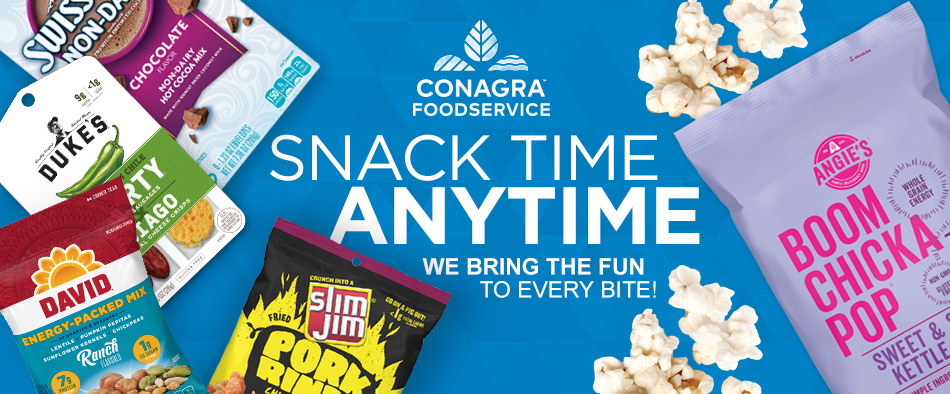 Conagra Foodservice: Snack Time Any Time