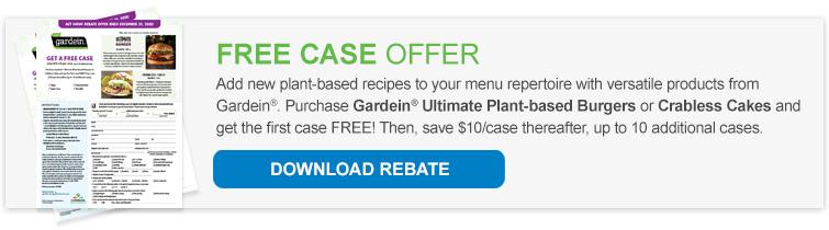 Free Case Rebate