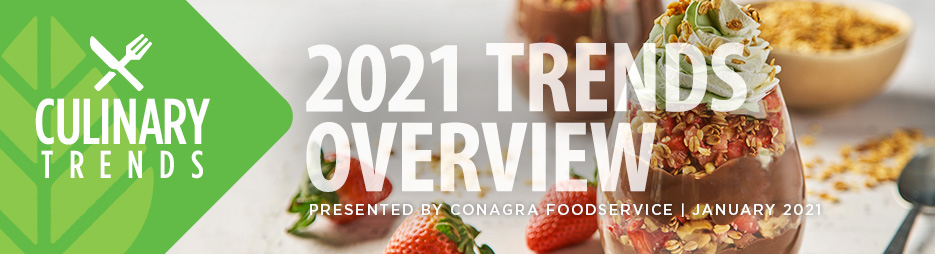 Culinary Trends: 2021 Trends Overview