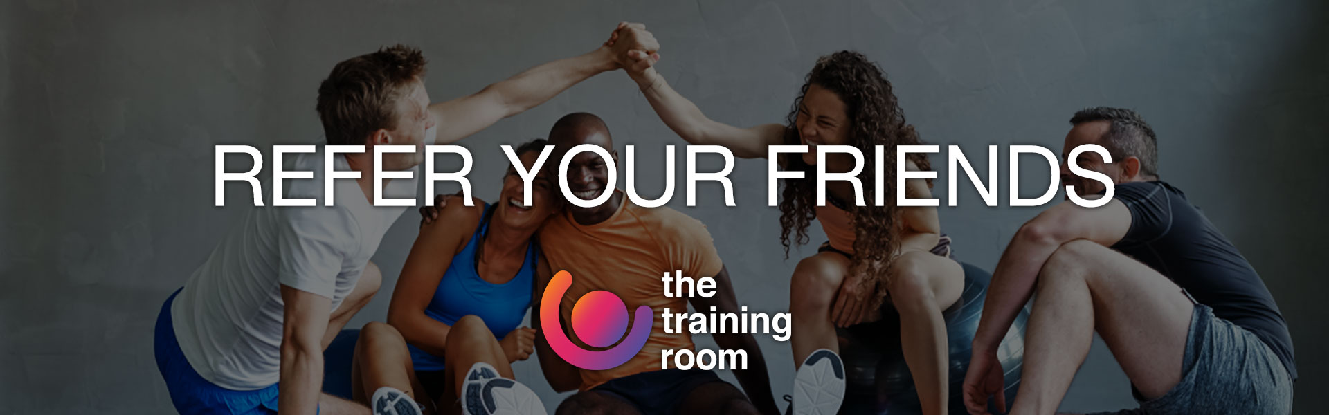 The Training Room Banner