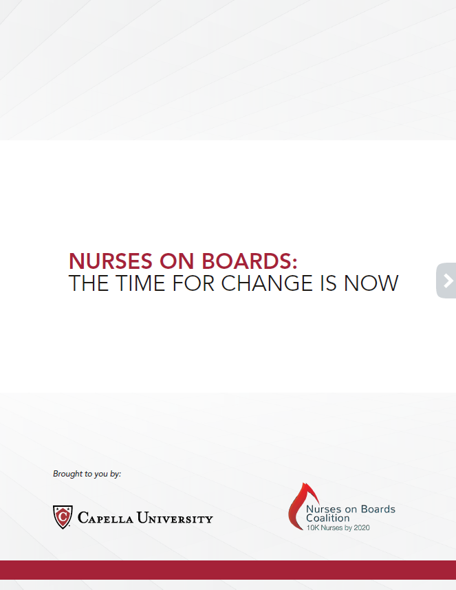 Nurses on Boards Whitepaper