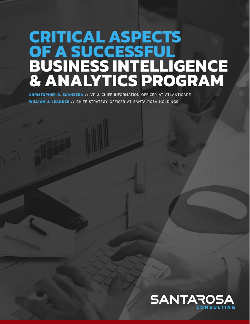 BI&A Program Resource