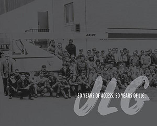 JLG Turns 50