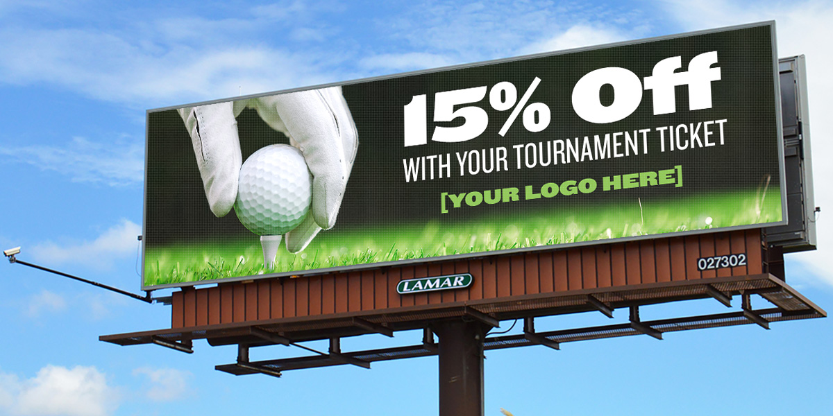 Promote your golf tournament