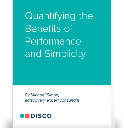 Quantifying the Benefits of Performance and Simplicity