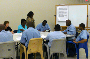 Adults in prison participating in CDSME.