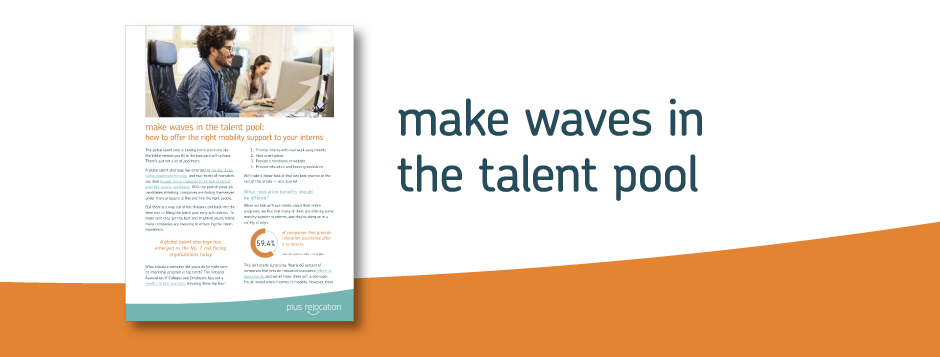 make waves in the talent pool