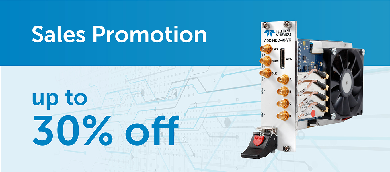 Up to 30% discount on selected digitizer models
