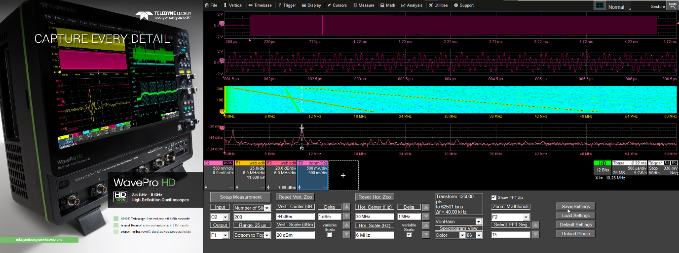 Oszilloskop Customization mit XDEV Webinar