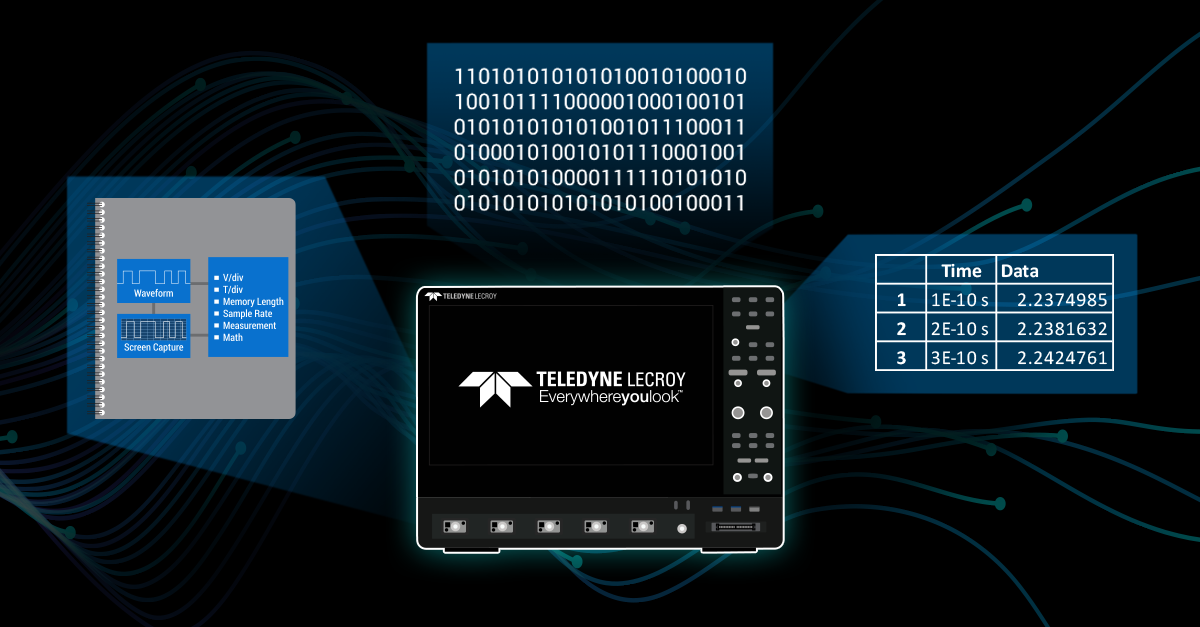 How to Save Results and Data on Teledyne LeCroy Oscilloscopes Webinar