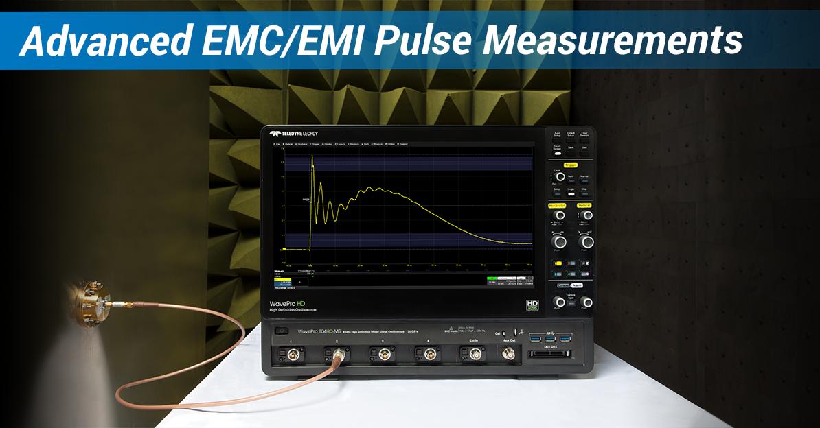 Advanced EMC/EMI Pulse Measurement Techniques and Examples