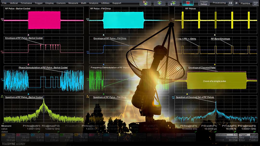 Analyzing Electronic Warfare Signals with Oscilloscopes Webinar