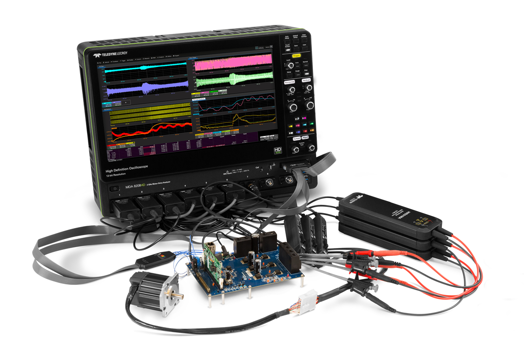 Power conversion and motor drive measurements Webinar