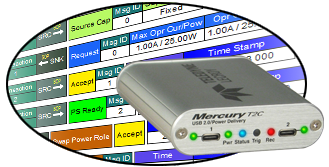 Mercury T2C USB Protocol Analyzer