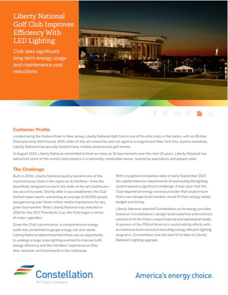 liberty golf club case study