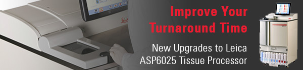 Smart Got Smarter - New Upgrades to ASP6025 Tissue Processor