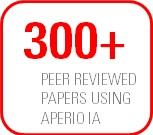 Aperio IA 300+ Peer Reviewed Papers