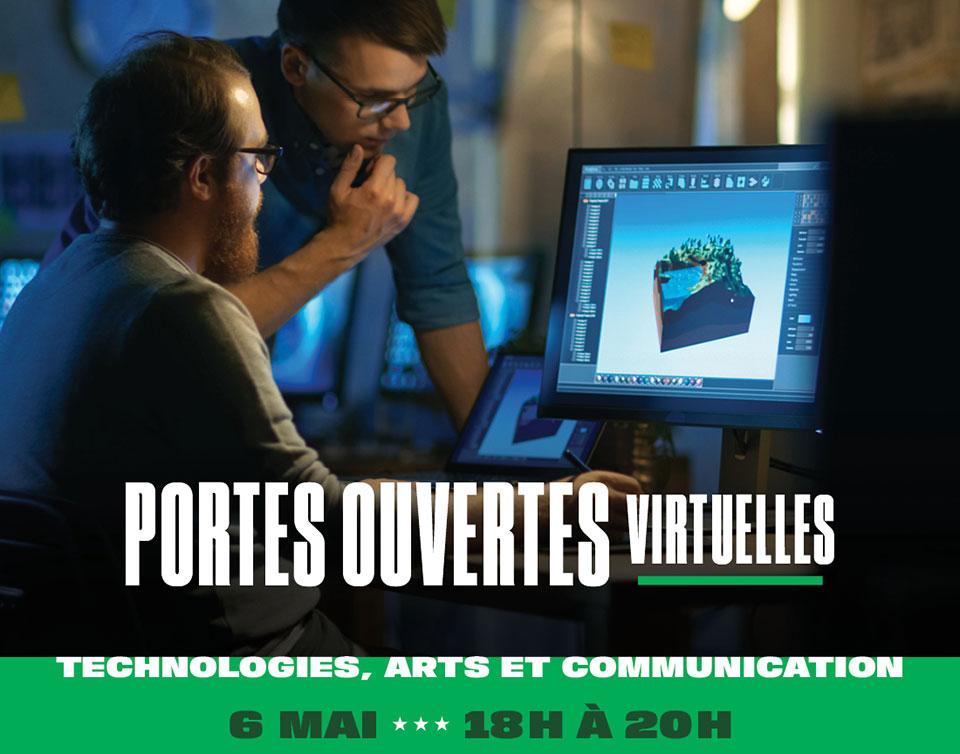 Portes ouvertes virtuelles 2021 - ITAC