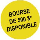 Bourses 1000$ disponible