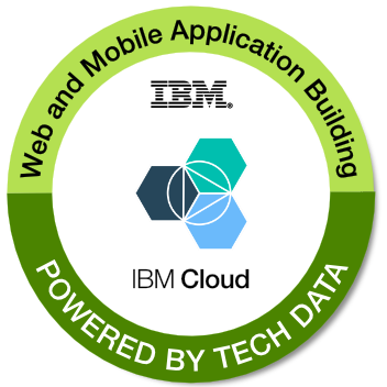 Tech Data's Highly Scalable Web and Mobile Application Building on IBM Cloud badge